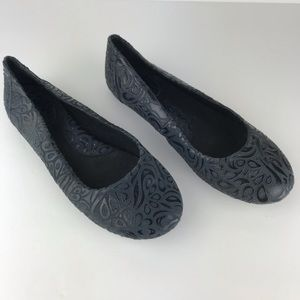 BOC by Born Leather Embossed Ballet Flats